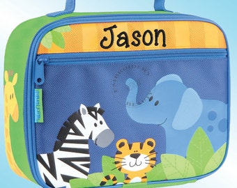 Lunchbox - Personalized and Embroidered - Fully Insulated - BOY ZOO