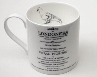 Pigion Appreciation Society of London Mug