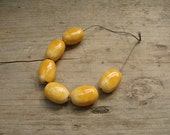 Set of 6 ceramic beads - eco-friendly ceramic beads