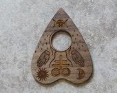 Misprinted Handmade Wiccan Spirit Board Pointer / Planchette