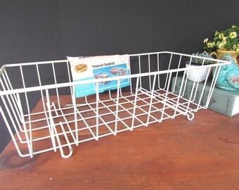 Wire Basket Vintage Freezer Basket NOS Artwire Storage Planter