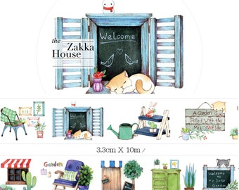 1 Roll Limited Edition Washi Tape: The Zakka House