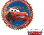 50 Disney Cars Cupcake Liners/Cups