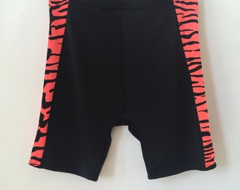 Deadstock Bengals Tiger Stripe Bike Shorts Size Large NWT