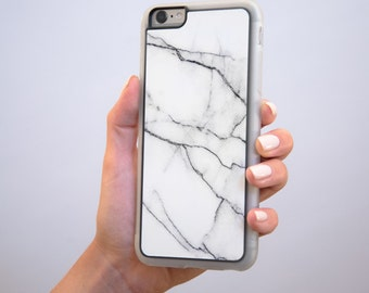 White Marble iPhone 6 / 6S Case, iPhone 6 / 6S Plus Case, iphone 7 case, iPhone 5s cases