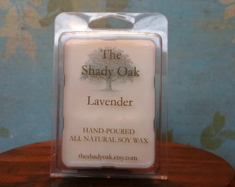 LAVENDER Hand-Poured Soy Wax Tart Melt