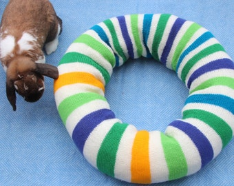 Pinwheel Ugli Donut Bed for large rabbits