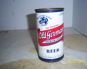 1950's Old German Premium Lager Beer  Queen City Brewing Co Cumberland, MD 12 oz Metal can beer can