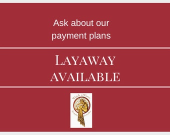 Convenient Layaway Payment Plan Available - We also combine Shipping