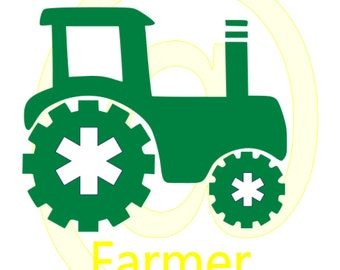 Future Farmer Tractor SVG File Instant Download Cutting Machine File Infant Saying SVG