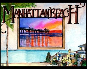 Manhattan Beach card