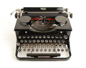 Typewriter, Royal Standard Portable P Series 1930s