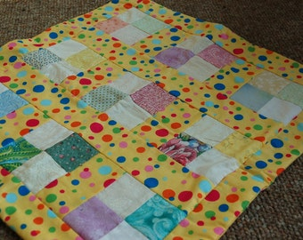 Patchwork Doll Blanket.