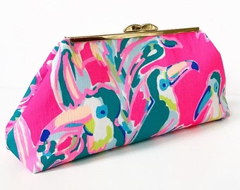 Toucan Can Clutch