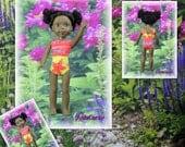 Wellie Wishers Starfish Doll Leotards