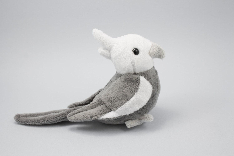 Cockatiel Stuffed Animal Bird Plushie Plush Toy Parrot