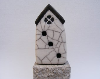 Raku glazed house