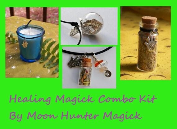 Healing Magick Combo Kit Healing Ritual Reiki Aromatherapy Healing Ritual Kit