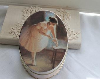 Ballet Tin, Ballerina Tin
