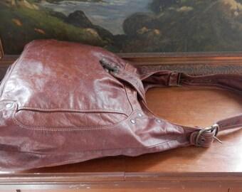 GORGEOUS Large Soft Supple Brown Leather 100% LAMB LAMBSKIN Leather Lamb Development Stunning