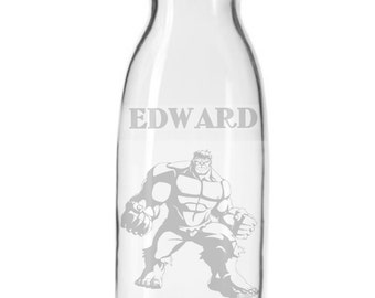 Personalized Hulk Carafe