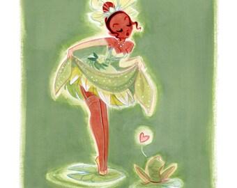 Princess Pinup - Tiana: Art Print
