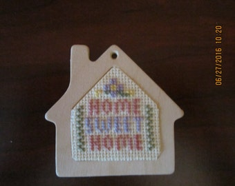Home Sweet Home House Refrigerator Magnet