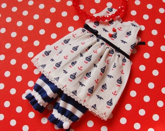 Sailor outfit for Blythe by DanielaPink #3 items