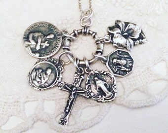 DEPOSIT - design your own custom charm style medal necklace