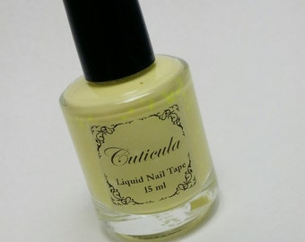 Fresh Lemon Scented Liquid Tape for Nail Art
