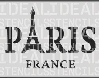 stencil, french, shabby chic vintage, Paris France, furniture stencil, wall painting art craft stencil
