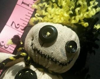 Mojo Doll - yellow and black