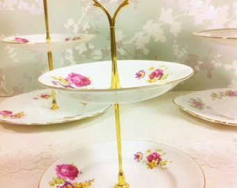 Amy Grace 2 Tier Cake Stand
