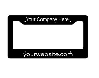 License Plate Frame - License Plate Cover - Purple License Plate Cover - Custom Plate Frame - Monogram Car Tag - Hot Pink Car Frame