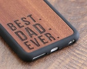 Best Dad Ever Phone Case, Fathers Day Gift iPhone 6 / 7 / 7 Plus Case - SHK-R-I6-BESTDAD