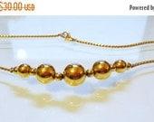 SALE 30 MONET 16 Inch Vintage Necklace Timeless Striking Design