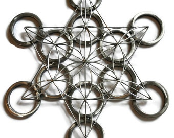 Flower of life Sacred Geometry Sculpture