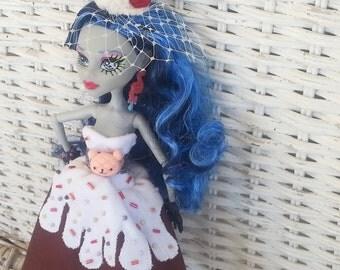 Monster Doll Chocolate Lolita Dress- Sweets Lolita Sundae Dessert Dress