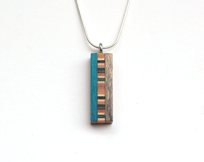 The Frank, Recycled skateboard necklace
