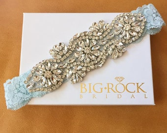 Rhinestone Wedding Garter - BRAND NEW
