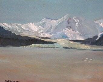 Alaskan Glacier original oil