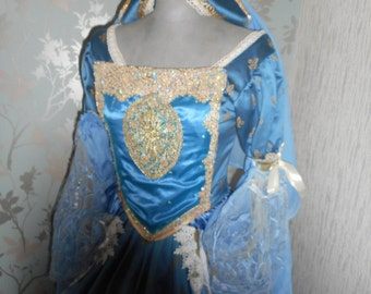 Custom made Anne Bolyne Tudor queen princess stage party banquet faire reinactment custom made to your measurements