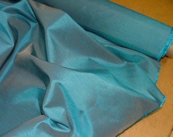 Electric blue Milan Faux slub silk fabric suitable wedding bridesmaid prom ballgown for soft furnishing curtaining or for crafts