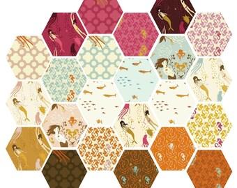 Heather Ross Mendocino Fat Quarter Fabric Bundle of 23