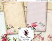 75% OFF SALE OLD Paper Cards 02 Digital Collage Sheet Set of 8 Digital Journaling Scrapbooking Printable cards Instant Download