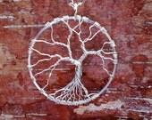 Tree of Life Pendant, Bare Branch Tree of Life, Wire Wrapped Tree of Life, Leafless Tree of Life