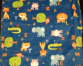 Jungle animal Baby blanket