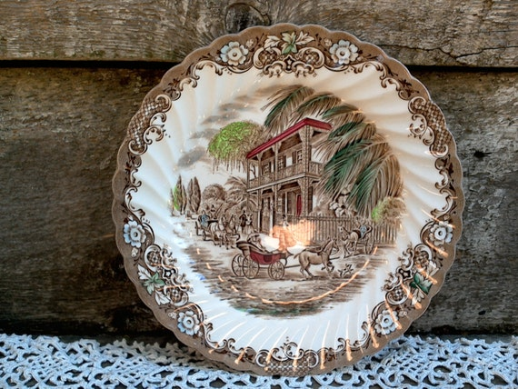 Side Plate 8 Inch Heritage Hall French Provincial New