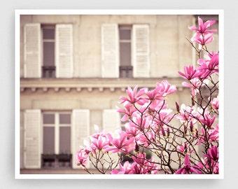 Paris photography - Paris printemps IV. - Paris photo,Art,Fine art photography,Paris decor,8x10 wall art,white,Fine art prints,Art Posters