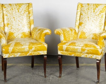 Fabulous Pair Mid Century Chairs